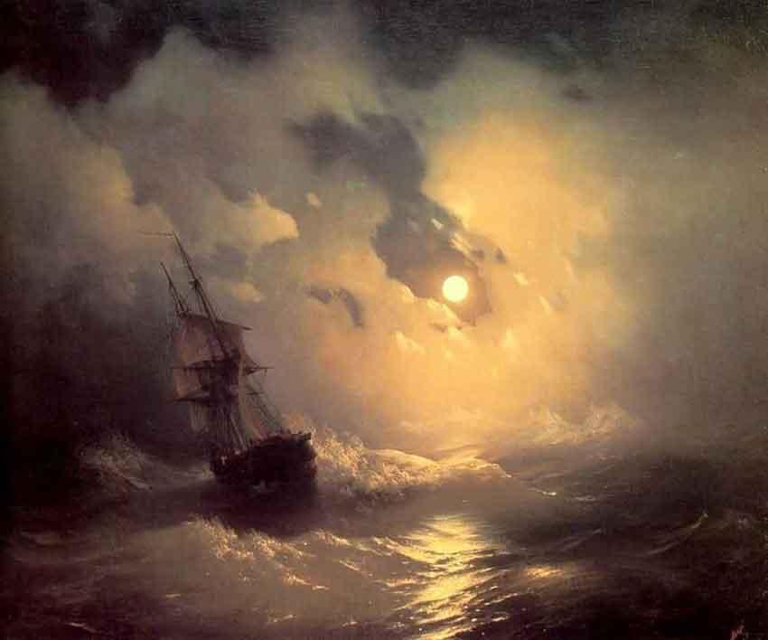 tempestad-en-el-mar-por-la-noche-ivan-ayvazowsky